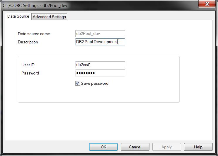 ODBC User DNS Add