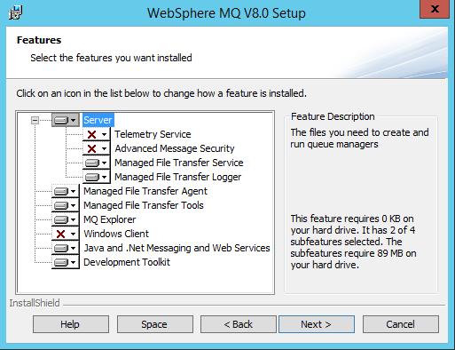 Install MQ FTE