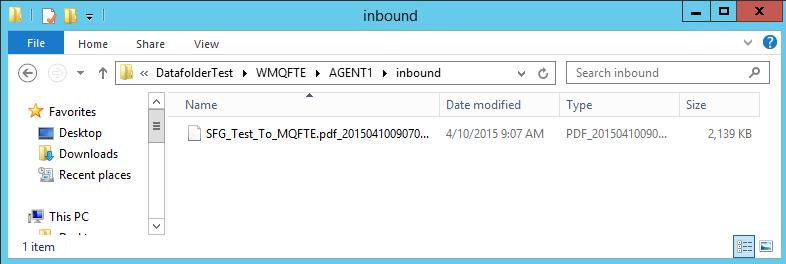 MQ_AGENT1_Folder